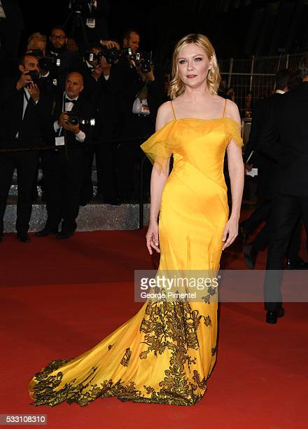 Jury member Kirsten Dunst attends the 'Neon Demon' premiere during the 69th annual Cannes Film Festival at the Palais des Festivals on May 20, 2016...