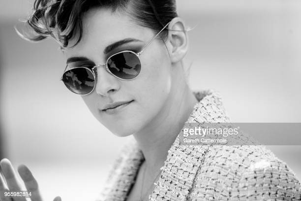 Jury member Kristen Stewart attends the photocall for Jury during the 71st annual Cannes Film Festival at Palais des Festivals on May 8 2018 in...