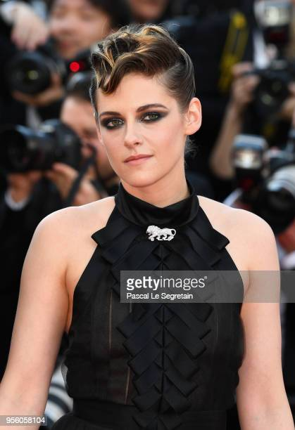 Jury member Kristen Stewart attends the screening of Everybody Knows and the opening gala during the 71st annual Cannes Film Festival at Palais des...