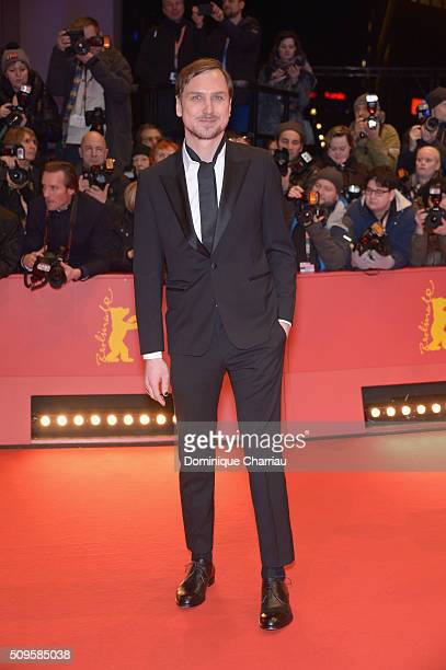 Jury member Lars Eidinger attends the 'Hail Caesar' premiere during the 66th Berlinale International Film Festival Berlin at Berlinale Palace on...