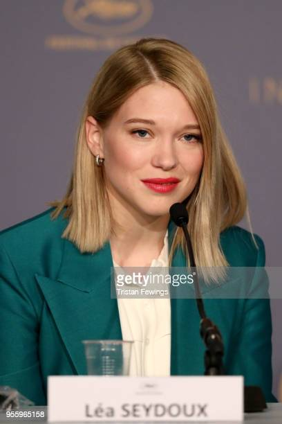Jury member Lea Seydoux attends the Jury press conference during the 71st annual Cannes Film Festival at on May 8 2018 in Cannes France