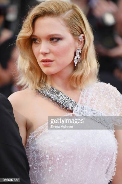 Jury member Lea Seydoux attends the screening of Everybody Knows and the opening gala during the 71st annual Cannes Film Festival at Palais des...