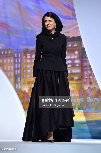 Jury member Leila Hatami attends the Closing Ceremony during the 67th Annual Cannes Film Festival on May 24 2014 in Cannes France