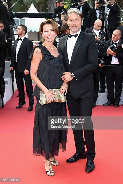 Jury member Mads Mikkelsen and Hanne Jacobsen attend 'The Unknown Girl ' Premiere during the 69th annual Cannes Film Festival at the Palais des...