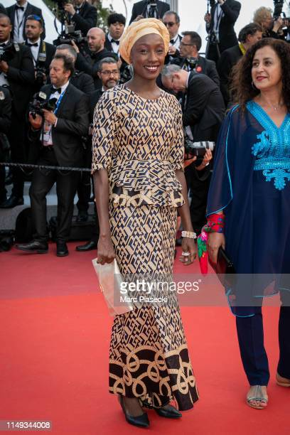 """Jury member Maimouna N'Diaye attends the screening of """"Les Miserables"""" during the 72nd annual Cannes Film Festival on May 15, 2019 in Cannes, France."""