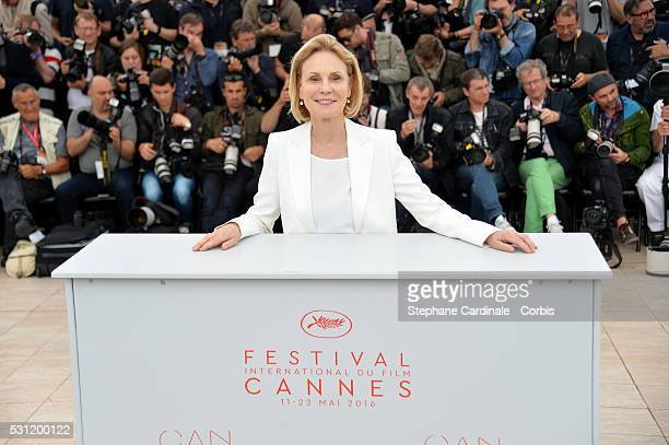 Jury member Marthe Keller attends the Jury Un Certain Regard Photocall during the 69th annual Cannes Film Festival at the Palais des Festivals on May...