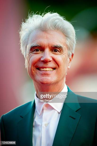 Jury member musician David Byrne attends the Damsels In Distress premiere and closing ceremony during the 68th Venice Film Festival at Palazzo del...