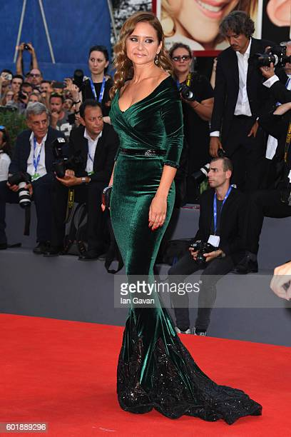 Jury member Nelly Karim attends the closing ceremony of the 73rd Venice Film Festival at Sala Grande on September 10 2016 in Venice Italy