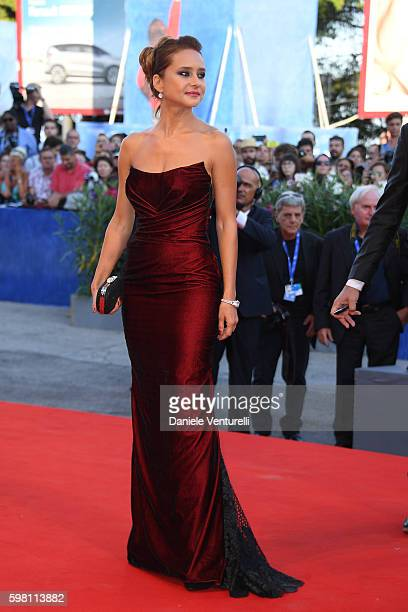 Jury member Nelly Karim attends the opening ceremony and premiere of 'La La Land' during the 73rd Venice Film Festival at Sala Grande on August 31...