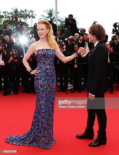 Jury member Nicole Kidman and Keith Urban attend 'Inside Llewyn Davis' Premiere during the 66th Annual Cannes Film Festival at Palais des Festivals...