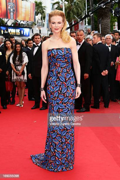 Jury member Nicole Kidman attends 'Inside Llewyn Davis' Premiere during the 66th Annual Cannes Film Festival at Palais des Festivals on May 19 2013...