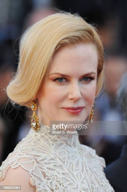 Jury member Nicole Kidman attends the 'Nebraska' premiere during The 66th Annual Cannes Film Festival at the Palais des Festival on May 23 2013 in...