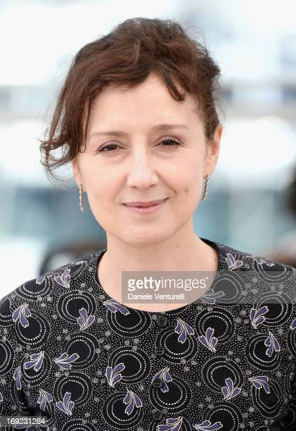 Jury member Nicoletta Braschi attends the photocall for the Jury Cinefondation at The 66th Annual Cannes Film Festival on May 22 2013 in Cannes France
