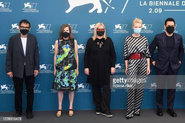 Jury member of the 77th Venice Film festival, Italian writer Nicola Lagioia, Jury member of the 77th Venice Film festival, British director Joanna...
