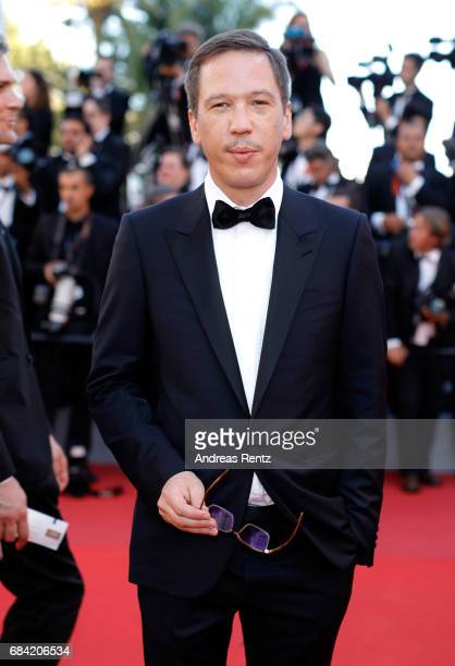 Jury member of Un Certain Regard Reda Kateb attends the 'Ismael's Ghosts ' screening and Opening Gala during the 70th annual Cannes Film Festival at...