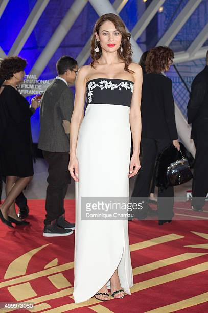 Jury Member Olga Kurylenco attends the Opening Ceremony of the15th Marrakech International Film Festival on December 4 2015 in Marrakech Morocco
