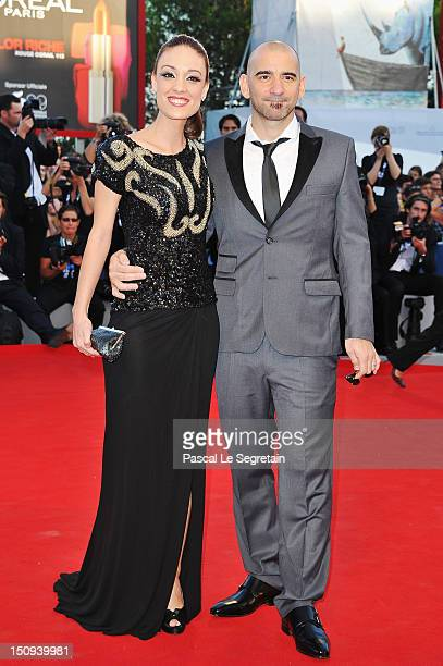 Jury member Pablo Trapero and wife Martina Gusman attend The Reluctant Fundamentalist Premiere And Opening Ceremony during the 69th Venice...