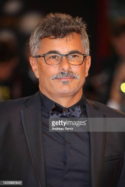 Jury member Paolo Genovese walks the red carpet ahead of the 'Suspiria' screening during the 75th Venice Film Festival at Sala Grande on September 1...