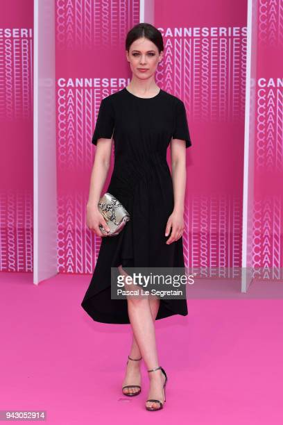 Jury Member Paula Beer attends the Launch of the Official Competition and The Truth About The Harry Quebert Affair screening during the 1st Cannes...