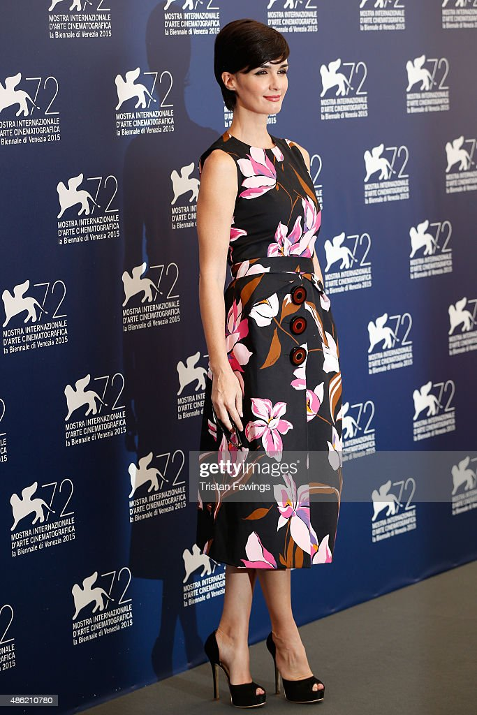 Jury member Paz Vega attends the ORIZZONTI Jury Photocall during the 72nd Venice Film Festival on September 2, 2015 in Venice, Italy.