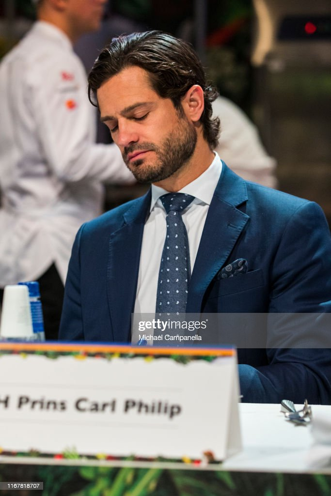 Prince Carl Philip Attends The Final Of Chef Of The Year 2019 : News Photo