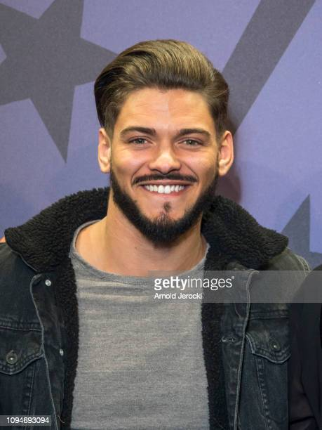 Jury Member Rayane Bensetti attends the opening ceremony of the 22nd L'Alpe D'Huez International Comedy Film Festival on January 15 2019 in Alpe...