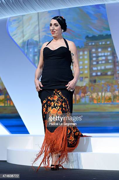 Jury member Rossy de Palma attends the closing ceremony during the 68th annual Cannes Film Festival on May 24 2015 in Cannes France