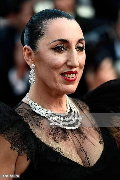 Jury member Rossy de Palma attends the opening ceremony and premiere of 'La Tete Haute' during the 68th annual Cannes Film Festival on May 13 2015 in...