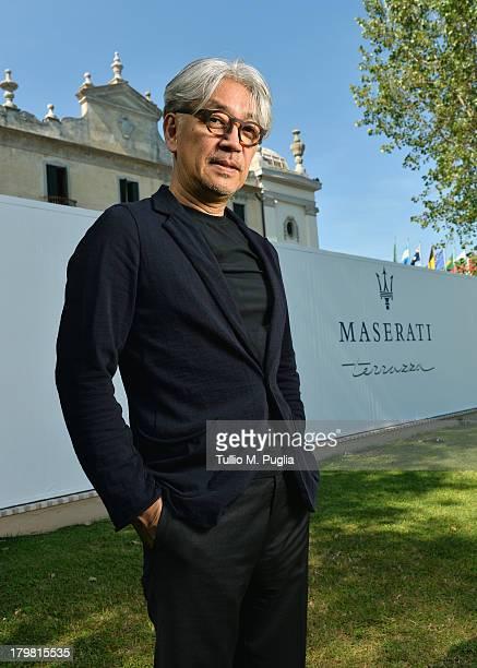 Jury Member Ryuichi Sakamoto attends the 70th Venice International Film Festival at Terrazza Maserati on September 7 2013 in Venice Italy
