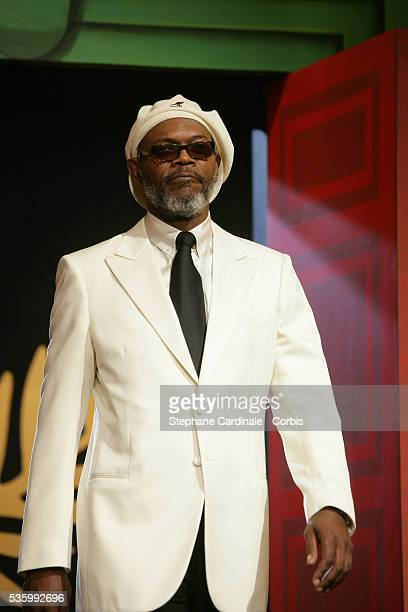 Jury member Samuel L Jackson at the closing ceremony of the 59th Cannes Film Festival