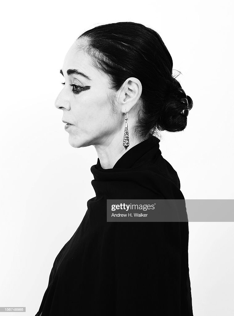 Jury Member Shirin Neshat poses for a portrait during the 2012 Doha Tribeca Film Festival at the AL Najada Hotel on November 20, 2012 in Doha, Qatar.