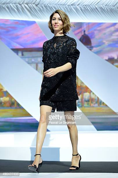 Jury member Sofia Coppola attends the Opening ceremony during the 67th Annual Cannes Film Festival on May 14 2014 in Cannes France