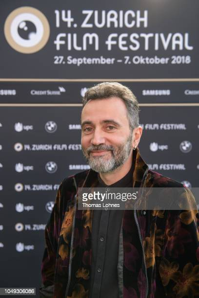 Jury member Talal Derki attends the ZFF International Documentary Film jury photo call during the 14th Zurich Film Festival at on October 04 2018 in...