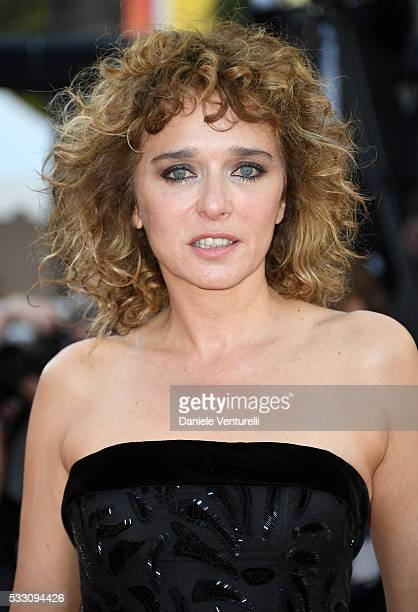 Jury member Valeria Golino attends The Last Face Premiere during the 69th annual Cannes Film Festival at the Palais des Festivals on May 20 2016 in...