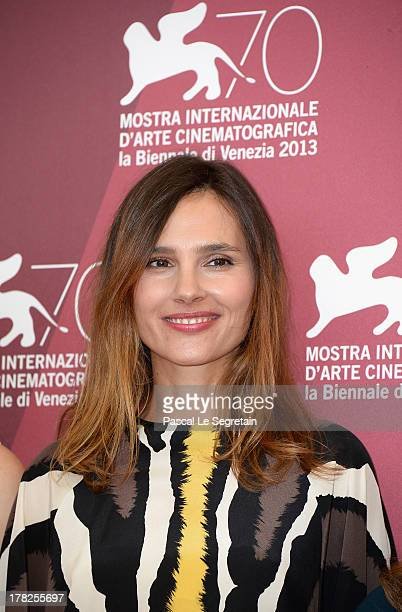 Jury member Virginie Ledoyen attends the International Jury Photocall during the 70th Venice International Film Festival at the Palazzo del Casino on...
