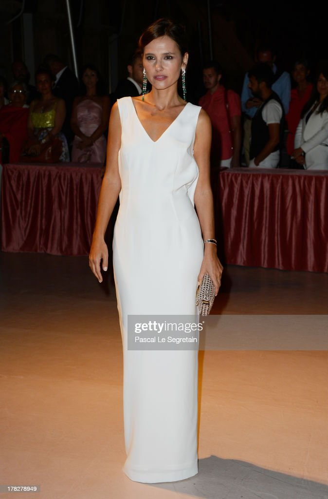 Jury member Virginie Ledoyen attends the Opening Dinner Arrivals during the 70th Venice International Film Festival at the Hotel Excelsior on August 28, 2013 in Venice, Italy.