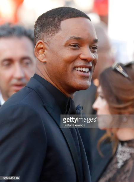 Jury member Will Smith attends the Closing Ceremony during the 70th annual Cannes Film Festival at Palais des Festivals on May 28 2017 in Cannes...