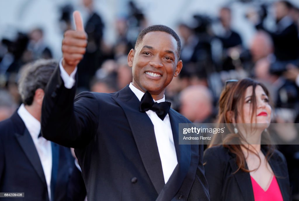 Jury member Will Smith attends the 'Ismael's Ghosts (Les Fantomes d'Ismael)' screening and Opening Gala during the 70th annual Cannes Film Festival at Palais des Festivals on May 17, 2017 in Cannes, France.