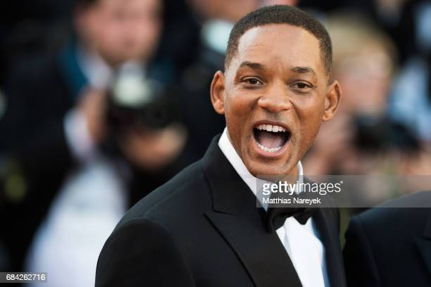 Jury member Will Smith attends the 'Ismael's Ghosts ' screening and Opening Gala during the 70th annual Cannes Film Festival at Palais des Festivals...