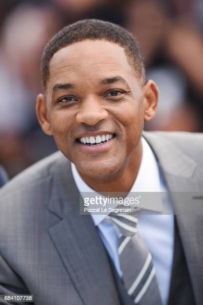 Jury member Will Smith attends the Jury photocall during the 70th annual Cannes Film Festival at Palais des Festivals on May 17 2017 in Cannes France
