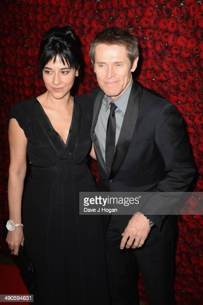 Jury member Willem Dafoe and Giada Colagrande attend the after party for 'Grace of Monaco' during the 67th Annual Cannes Film Festival on May 14 2014...