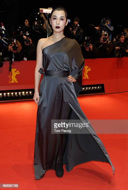 Jury member Yu Nan attends the 'Otouto' Premiere during day ten of the 60th Berlin International Film Festival at the Berlinale Palast on February 20...