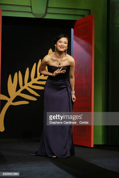 Jury member Zhang Ziyi at the closing ceremony of the 59th Cannes Film Festival