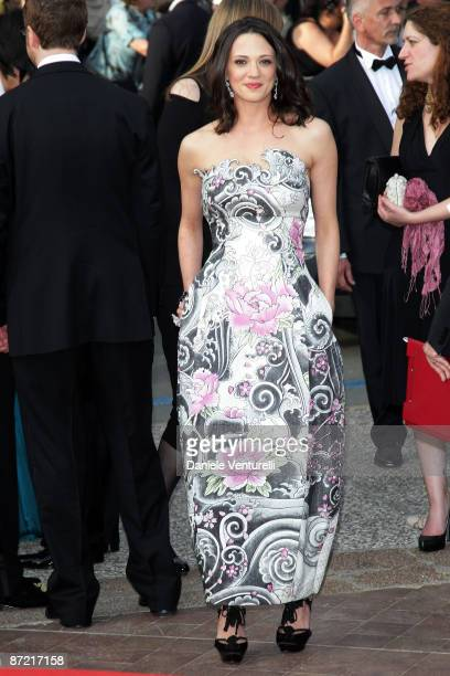 Jury members actresses Asia Argento attends the 'Up' Premiere at the Palais des Festivals during the 62nd Annual Cannes Film Festival on May 13 2009...