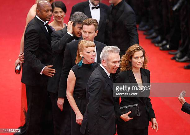 """Jury members Alexander Payne, Ewan McGregor, Andrea Arnold, Emmanuelle Devos and Jean Paul Gaultier attends the """"Amour"""" premiere during the 65th..."""