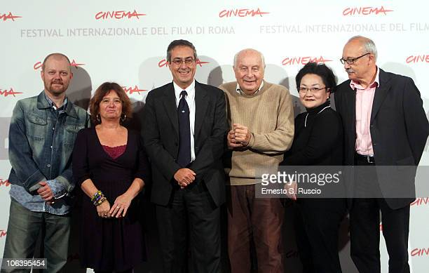 Jury members Alexandre O Philippe Anna Glogowski Mario Sesti Extra Section Curator for the Rome Film Festival President of the Jury Folco Quilici and...