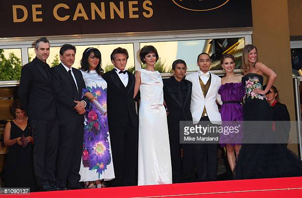 Jury members Alfonso Cuaron Sergio Castellitto Marjane Satrapi Sean Penn Jeanne Balibar Rachid Bouchareb Apichatpong Weerasethakul Natalie Portman...