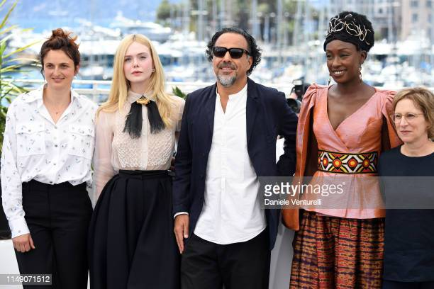 Jury Members Alice Rohrwacher Elle Fanning President of the Main competition jury Alejandro Gonzalez Inarritu Jury members Maimouna N'Diaye and Kelly...