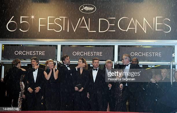 Jury members Andrea Arnold, President of the Jury Nanni Nanni Moretti, Emmanuelle Devos, Ewan McGregor, Jean Paul Gaultier, Hiam Abbass, Raoul Peck...