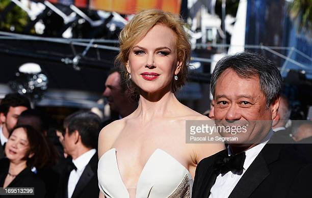 Jury members Ang Lee and Nicole Kidman attend the 'Zulu' Premiere and Closing Ceremony during the 66th Annual Cannes Film Festival at the Palais des...